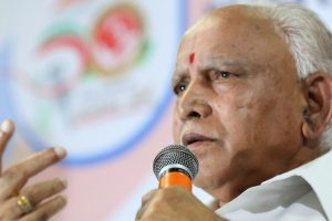 100% confident that we will prove full majority: Yeddyurappa