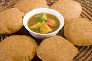 Aloo ki subzi with bedmi puri – The authentic north Indian food