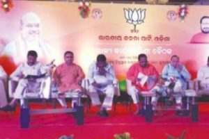 BJP seeks performance report of BJD, to release charge sheet