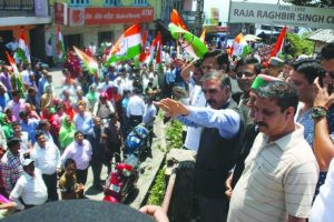 Cong corners BJP on inflation, deteriorating law and order
