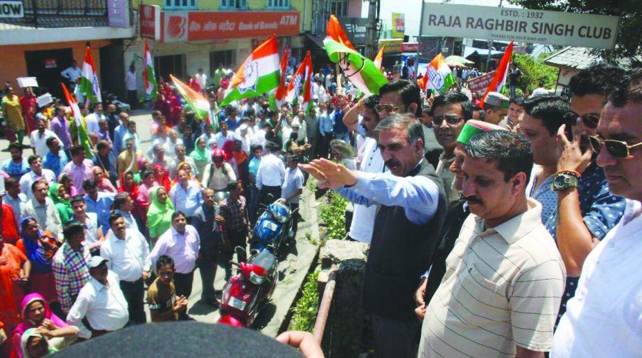 law and order, Congress, Sukhwinder Singh Sukhu, Jai Ram Thakur