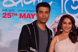 Hope I'm lucky for Madhuri,'Bucket List': Karan Johar