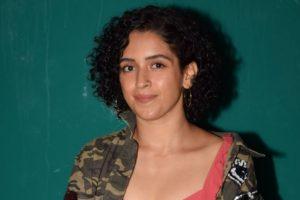 Sanya Malhotra to gain weight for Vishal Bhardwaj's film