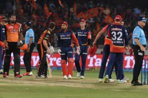IPL 2018: Hyderabad regain top spot after beating Delhi by 7 wickets