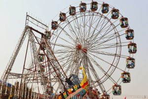 8-year-old girl dies as giant wheel crashes in Andhra