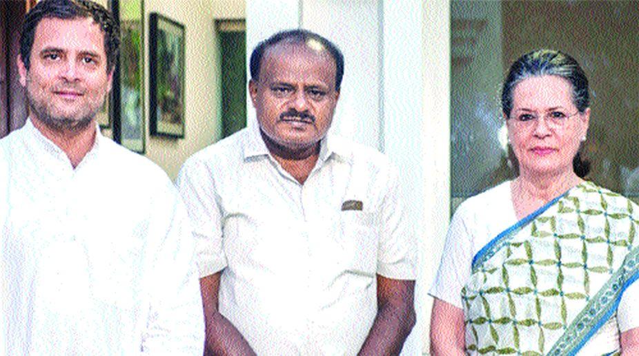 Congress, Rahul Gandhi, H D Kumaraswamy, JD(S)
