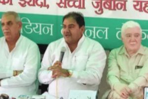 INLD accuses Haryana govt for making false claims