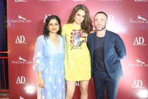 In pics: Kangana Ranaut attends intimate bash to celebrate her latest AD India cover