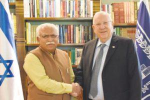 Haryana CM seeks Israel expertise for village ponds