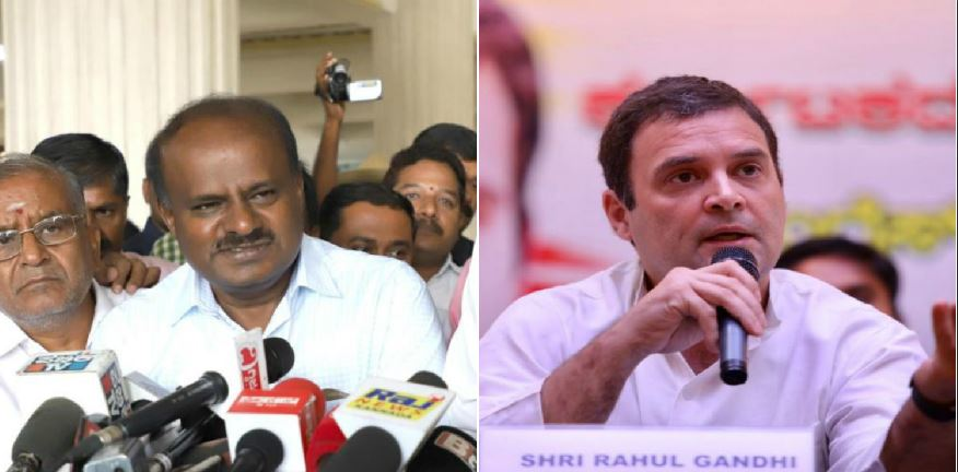 HD Kumaraswamy to meet Rahul and Sonia Gandhi in Delhi tomorrow