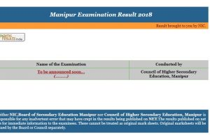 Manipur Board Class 12/XII Results 2018 expected today | Check manresults.nic.in