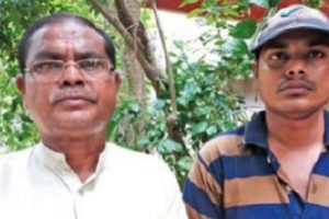 Father, son clear Matric together