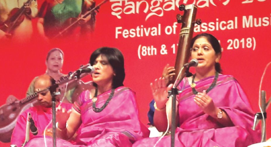 Siblings enthrall audience
