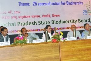 Parmar for awareness on biodiversity conservation