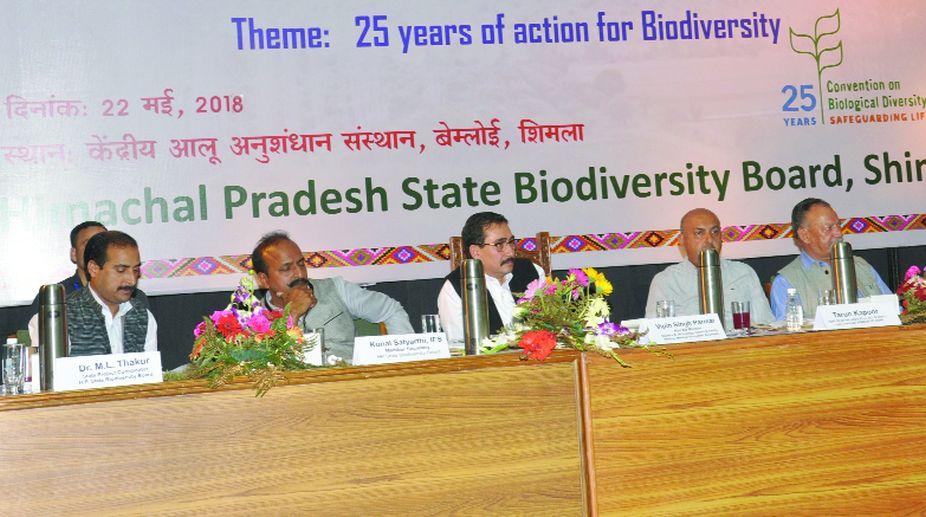biodiversity conservation, Vipin Singh Parmar, Himachal Pradesh