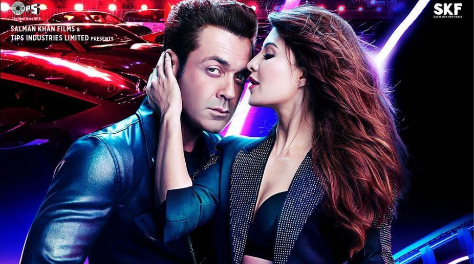 Salman Khan Unveils Race 3 New Poster, Feat Bobby Deol and Jacqueline