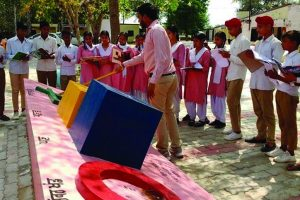 Amritsar govt school gets 'mathematical park'