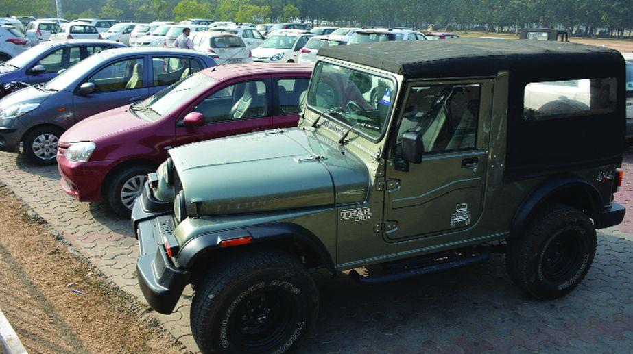 Panjab University, vehicle free, PU faculty vehicles, PU Campus