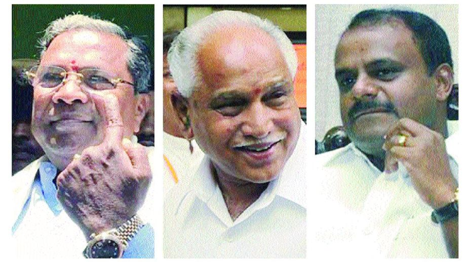 Karnataka floor test: Two Congress MLAs skip oath-taking, BJP has one absentee