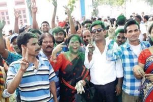 Panchayat Polls: Trinamul leads, BJP follows