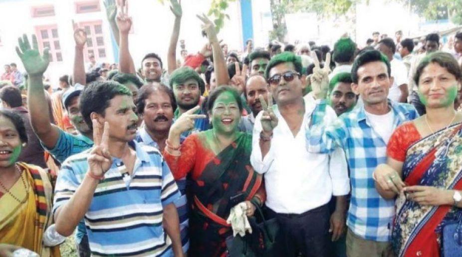 BJP, Trinamul Congress, Gautam Deb, panchayat elections