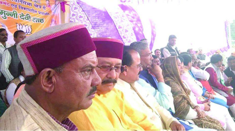 Tharali assembly, Uttarakhand, Munni Devi, Trivendra Singh Rawat, Magan Lal Shah