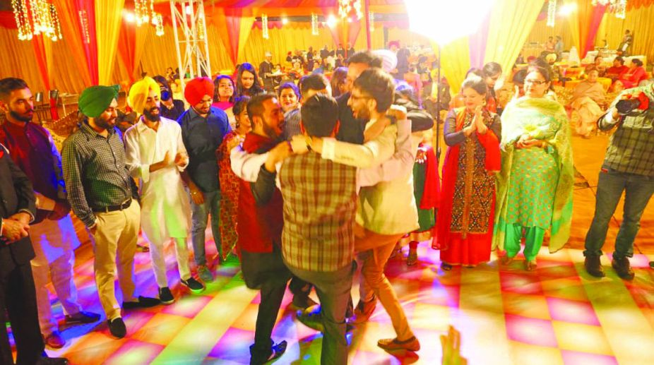 Punjabi weddings, big-fat weddings, music systems