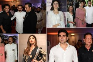In Pictures: B-town celebs at Baba Siddique's Iftar party