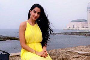 Nora Fatehi on cover of Arab singer Saad Lamjarred's Ghazali