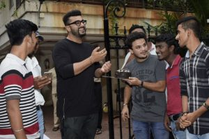 In pics: Arjun Kapoor celebrates his birthday with fans, friends and family