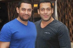 Love you personally and professionally: Aamir to Salman
