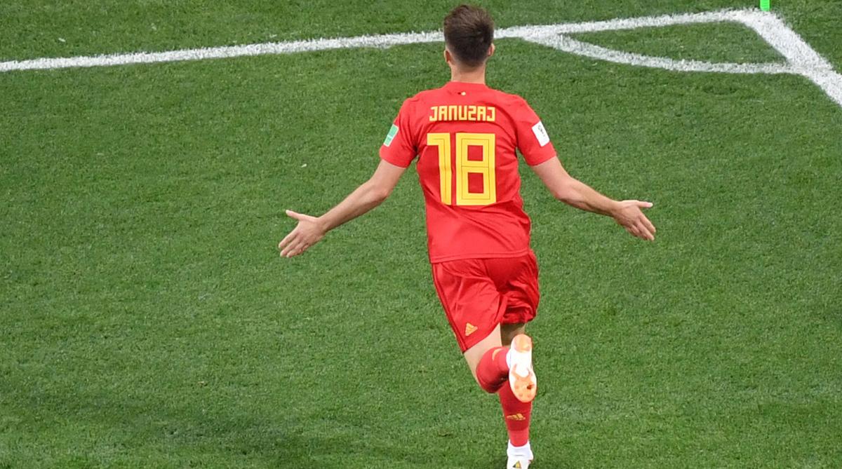 Adnan Januzaj, England vs Belgium, 2018 FIFA World Cup, FIFA World Cup 2018, England Football, Belgium Football