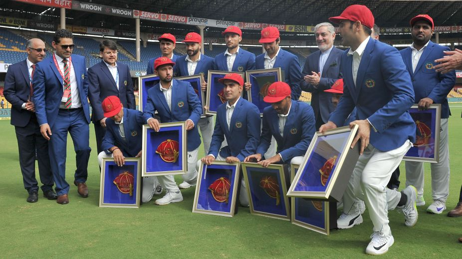 In Pictures: Afghanistan become 12 the Test playing nation