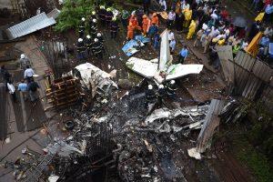 Mumbai air crash: CCTV footage shows intensity of impact