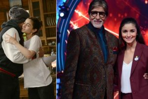 Alia Bhatt is in awe after shooting with Amitabh Bachchan for Brahmastra