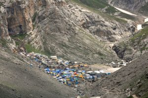 Flood declared in south Kashmir, Amarnath Yatra suspended