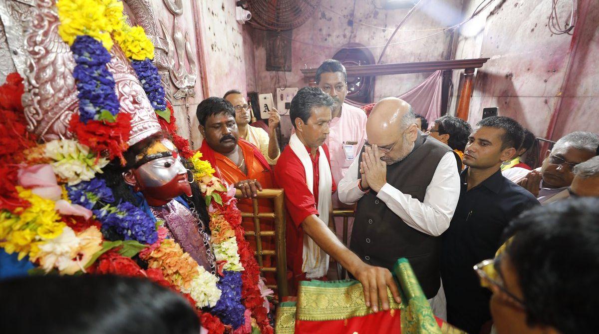 Amit Shah Bengal visit, BJP president, Tarapith temple, Amit Shah, West Bengal