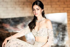 Ananya Panday looks ravishing in Manish Malhotra's ensemble