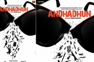 Andhadhun poster: Ayushman Khurrana, Radhika Apte starrer will leave you fascinated