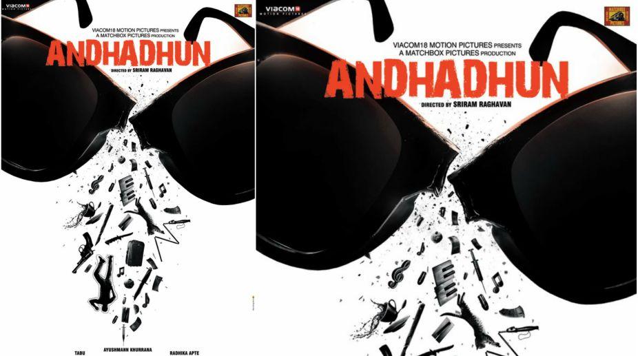 Andhadhun Poster Ayushman Khurrana Radhika Apte Starrer Will Leave You Fascinated