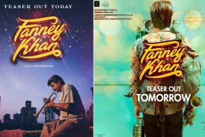 Fanney Khan poster: Anil Kapoor gives insight into aspiring singer's dreams