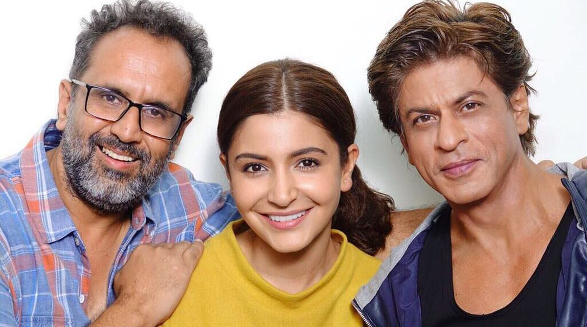 Anushka Sharma, Shah Rukh Khan, Aanand L Rai
