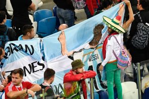 Fan moment: Dejection all over as Croatia crush Argentina