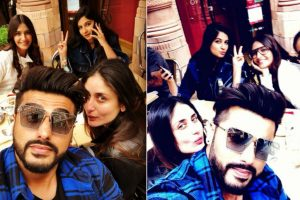 Watch: Arjun Kapoor chills with 'Veeres' in London