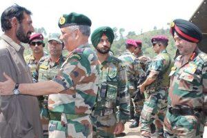 J-K: Army Chief Bipin Rawat pays visit to slain Rifleman Aurangzeb's family