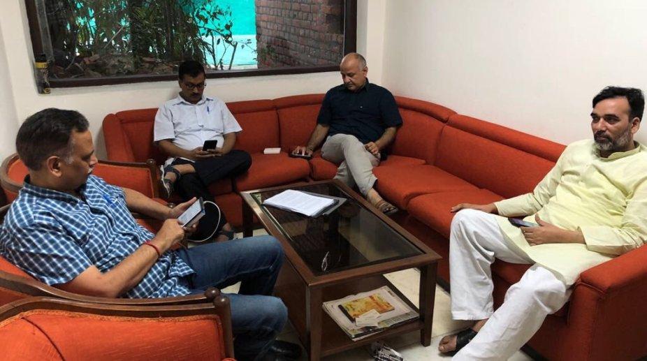 Arvind Kejriwal Dharna, Arvind Kejriwal, Delhi CM, Dharna Politics, AAP Chief