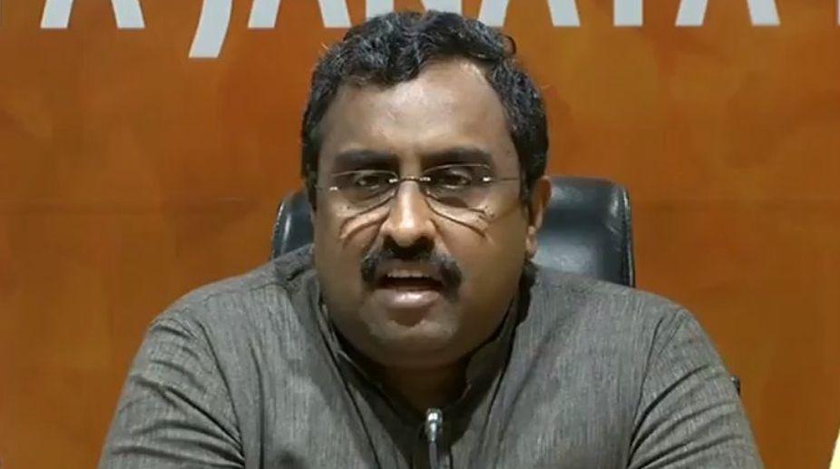 Ram Madhav, BJP leader, Terrorists, Anil Parihar,