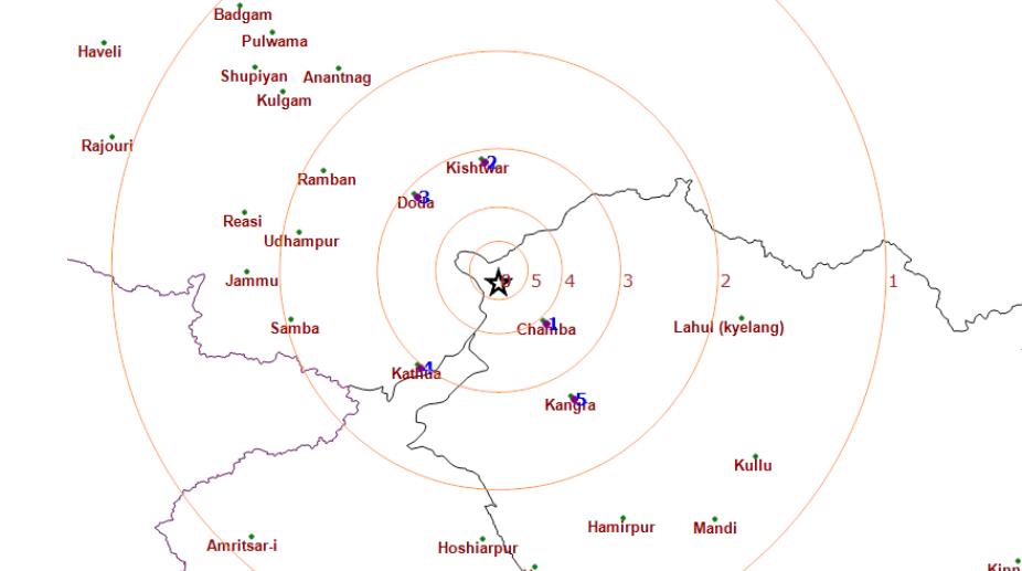 Chamba earthquake