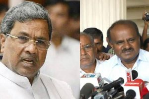 Siddu, HDK again at loggerheads again