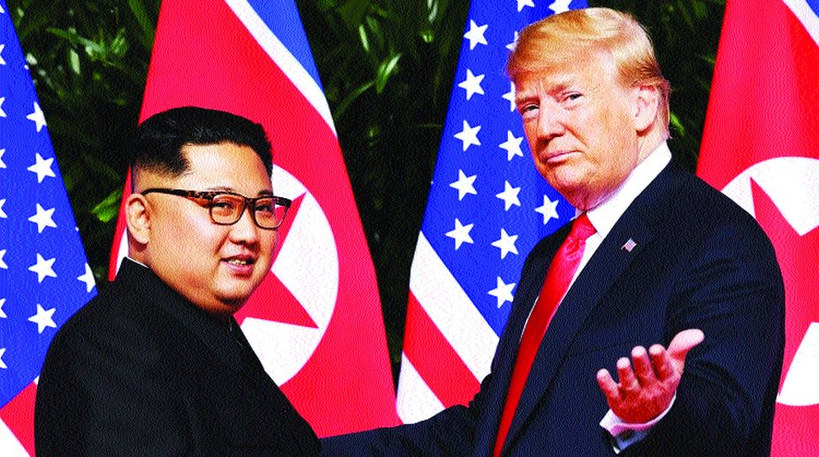 Singapore summit, Kim Jong-un, Donald Trump